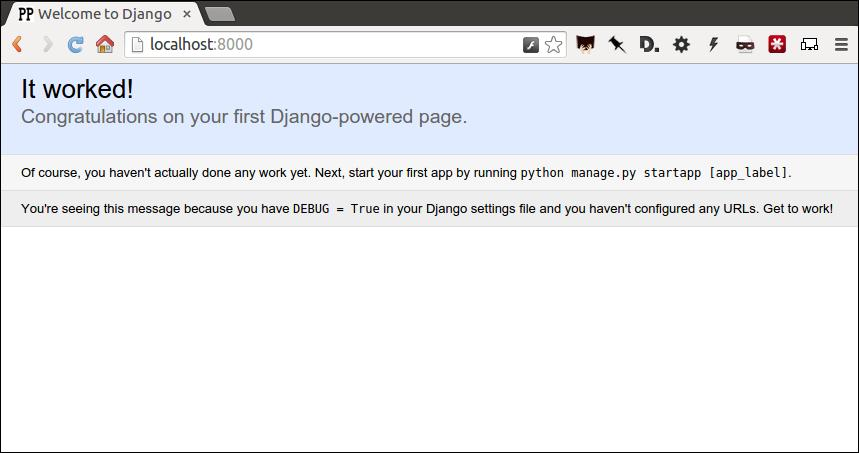 First Django admin — First Django Admin 0 1 documentation
